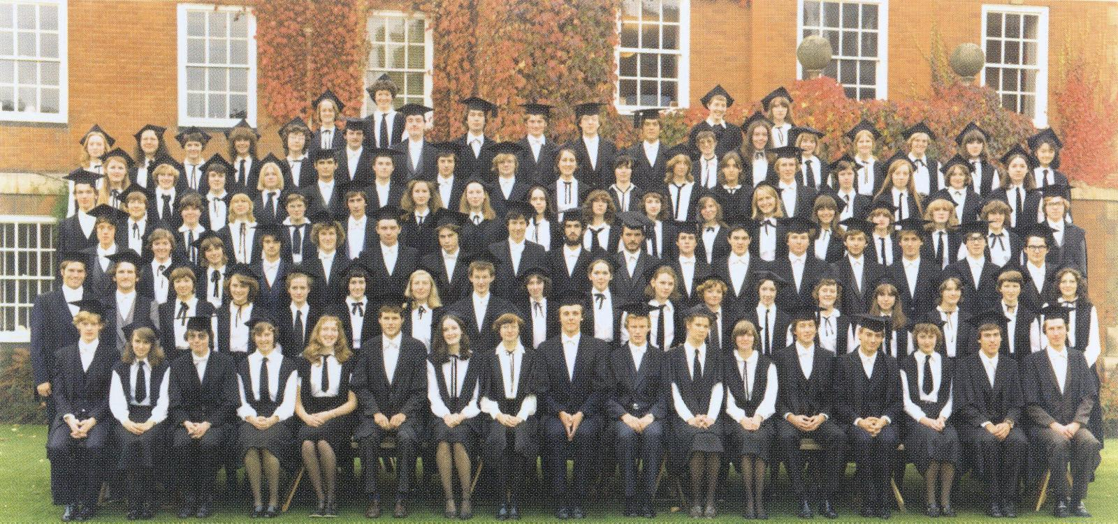 1979 Matriculation Photo