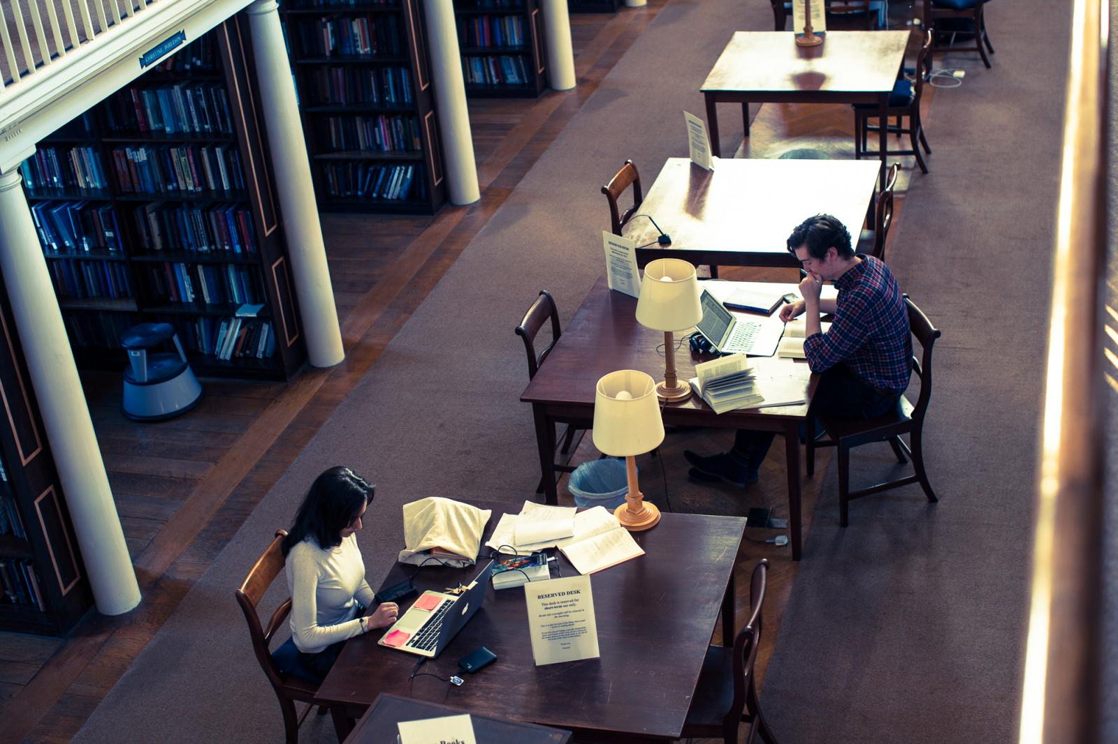 LMH Library (photo credit: Ben Robinson)