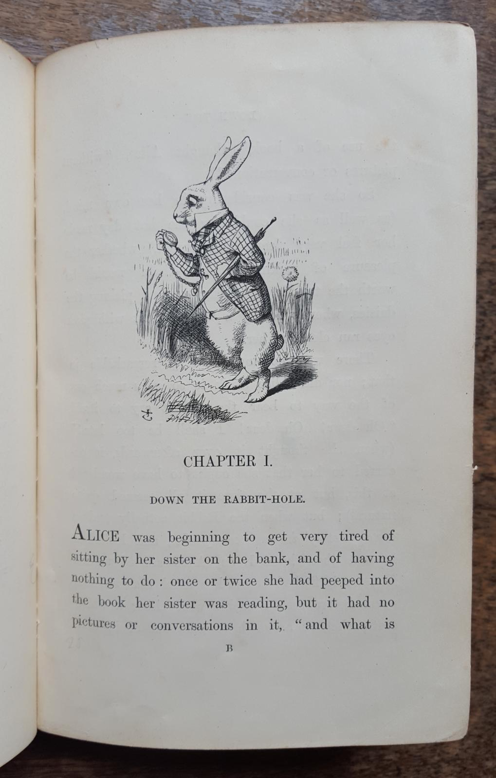 LMH's copy of Alice in Wonderland