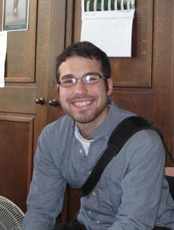 David Greenberg, visiting student from American University Washington DC
