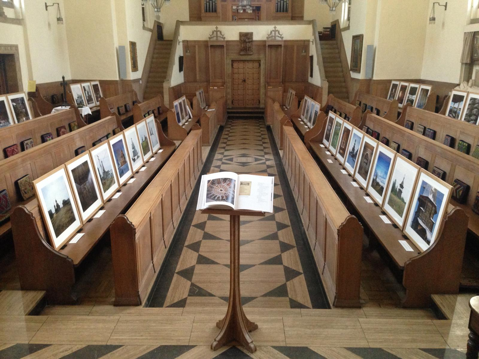 Art exhibition in the LMH chapel