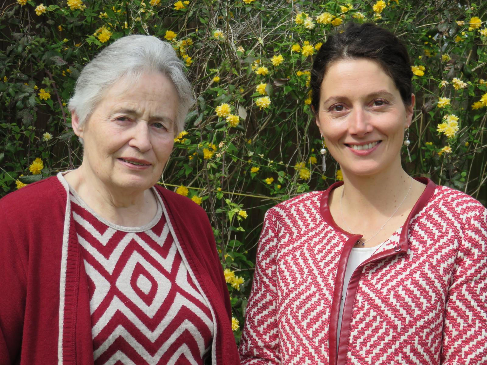Ann Kennedy with Fellow and Tutor in Law, Professor Alexandra Braun