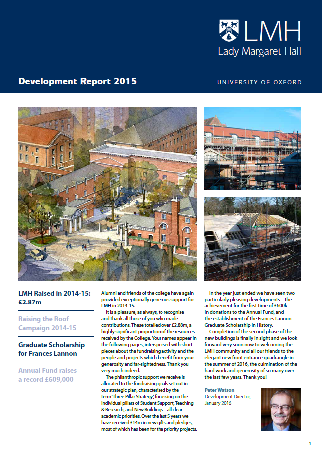 LMH Development Report 2015