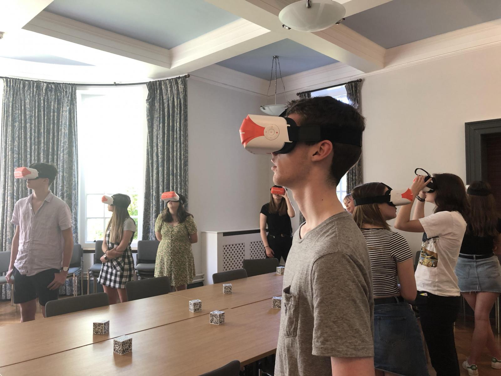 Oxford Classics VR Taster Study Session July Open days 2019