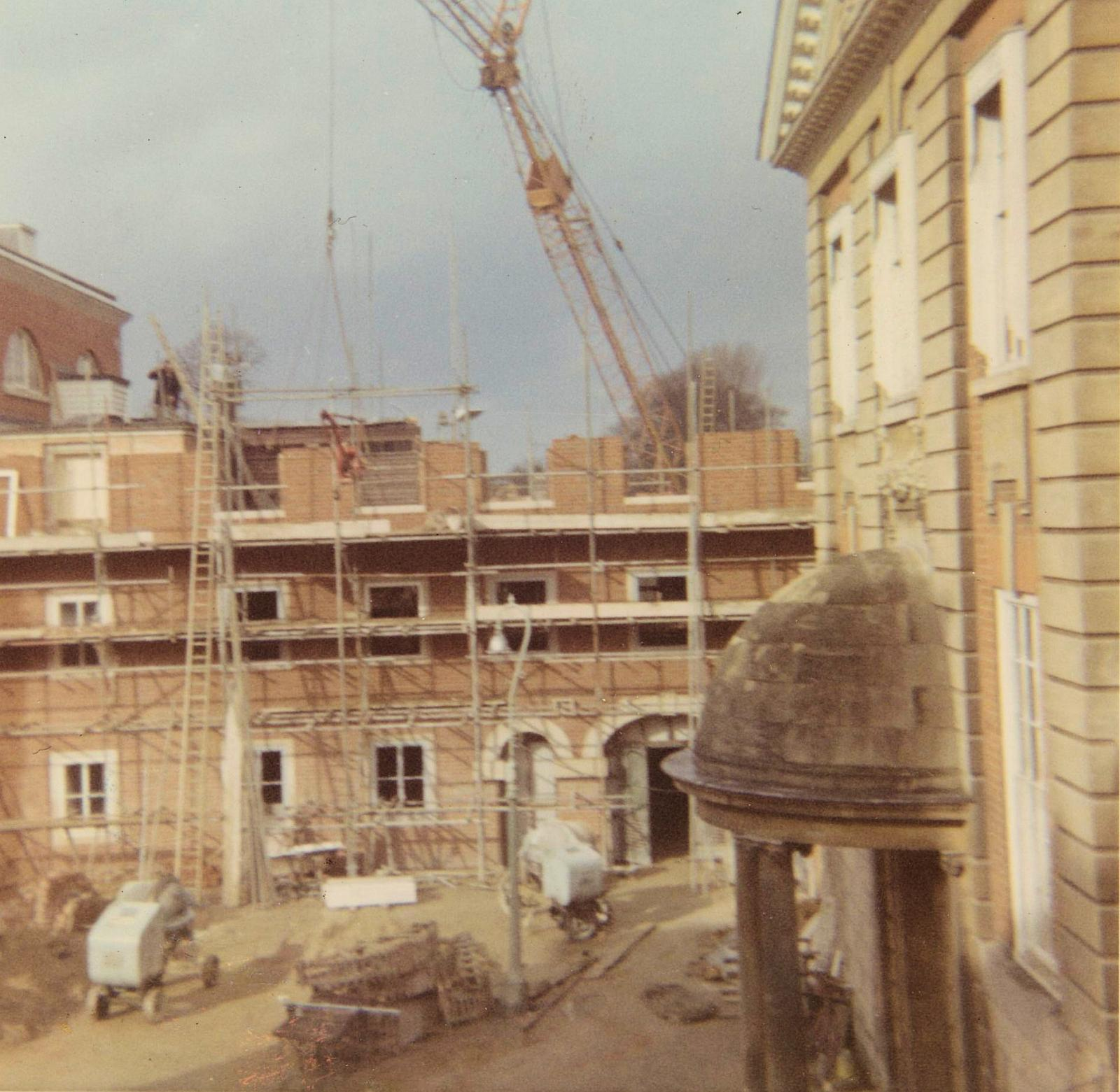 Wolfson North construction, 1965