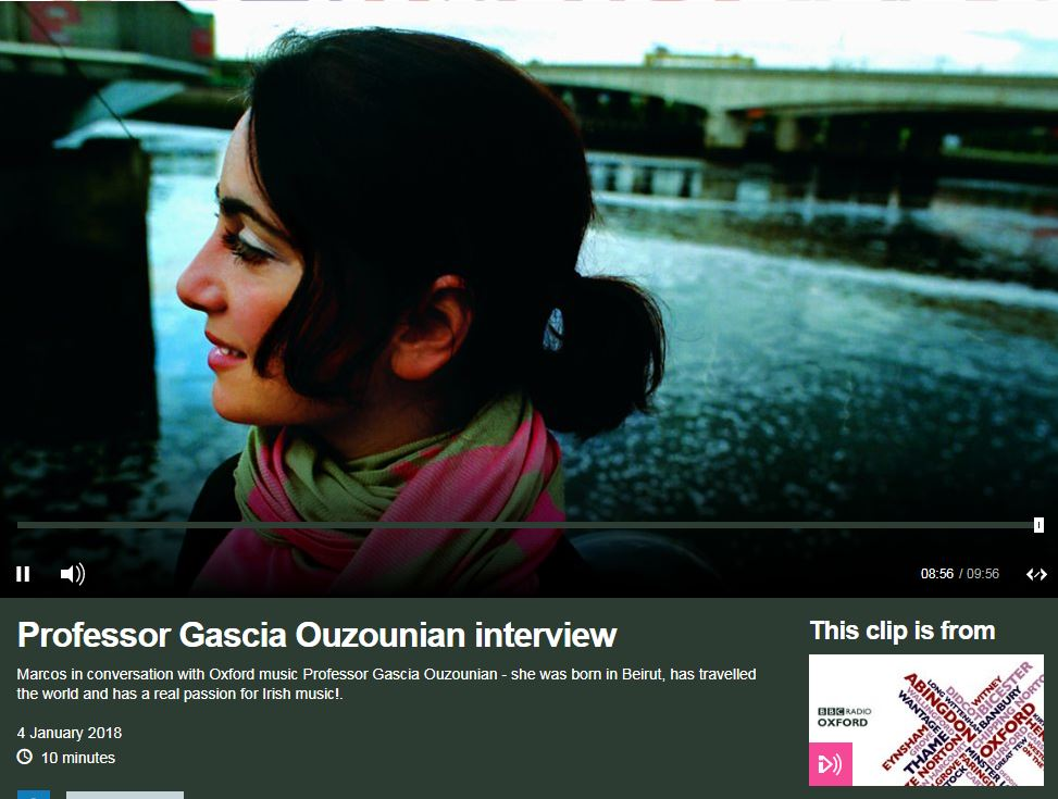 Gascia Ouzounian, appearing on Global Echoes