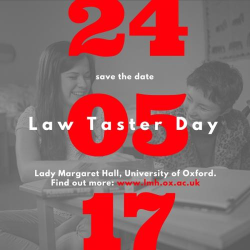 Law Taster Session at LMH