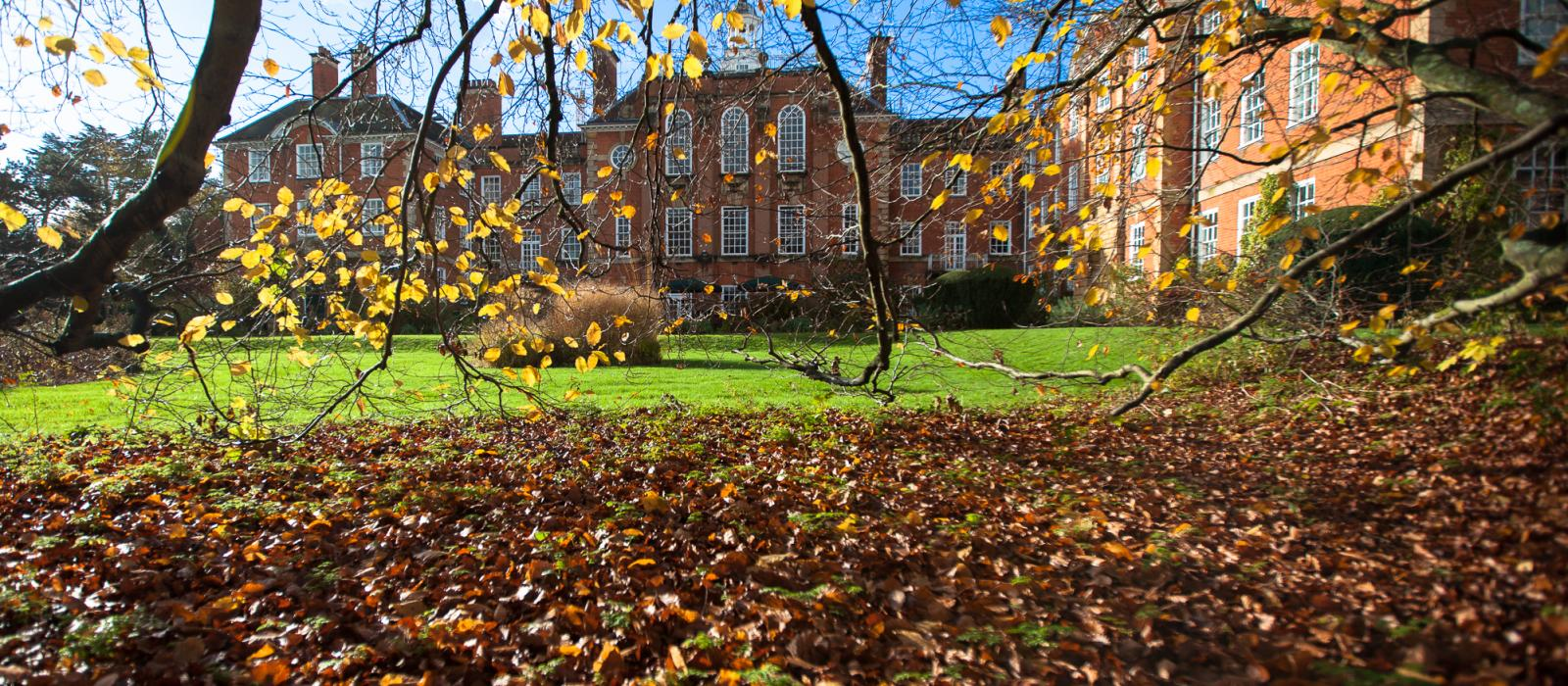 LMH in Autumn (photo credit: Ben Robinson)