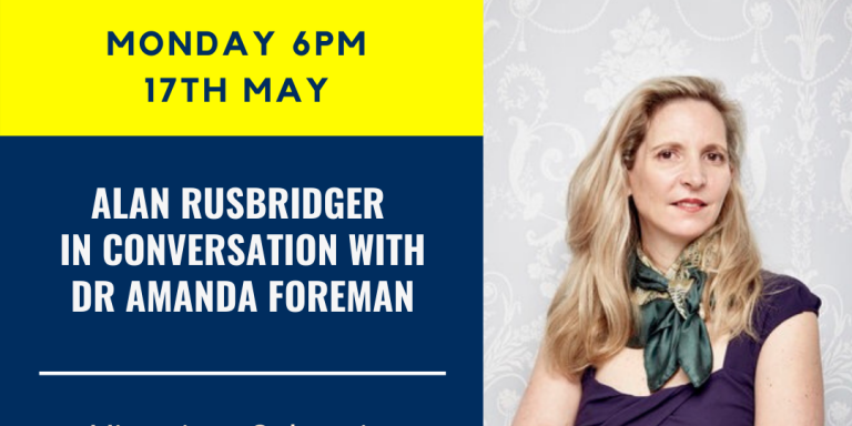 Poster for Amanda Foreman In Conversation