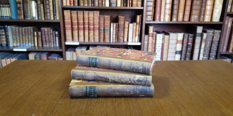 LMH's first edition of Jane Austen's Mansfield Park (1814)