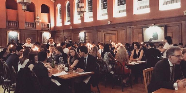 Formal Hall at LMH, Hilary Term 2017