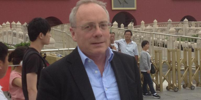 George Garnett in China