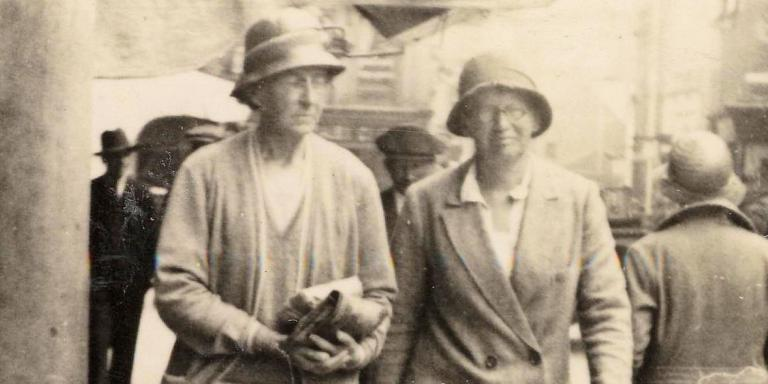 Grace Hadow with Madge Skipsworth