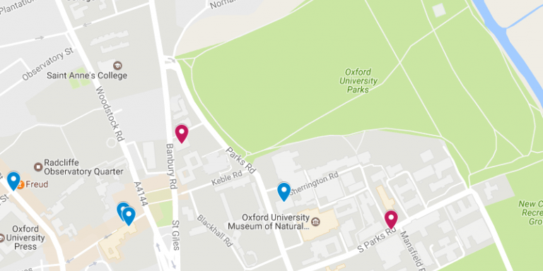 Where To Find Us Lady Margaret Hall - Where is oxford located