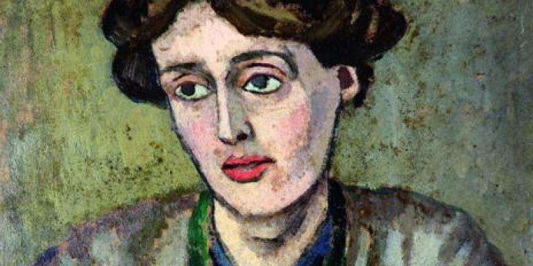 A portrait of Woolf by Roger Fry c. 1917 Wikipedia