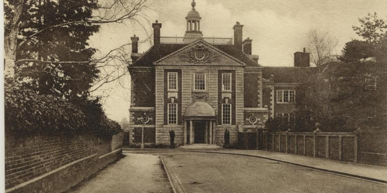 View of Talbot Hall around 1911