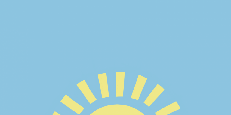 Keeping well sunshine logo by Niamh Simpson