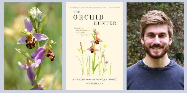Leif Bersweden and his book, The Orchid Hunter