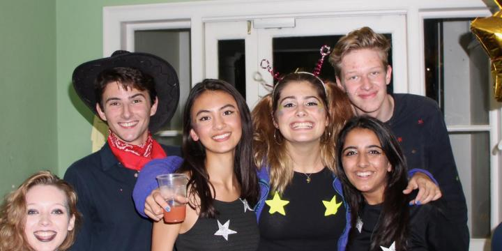 LMH students ready for a bop (photo credit: Munriah Patel)