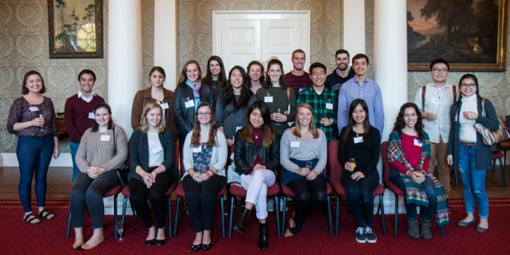 Visiting Students Group photo