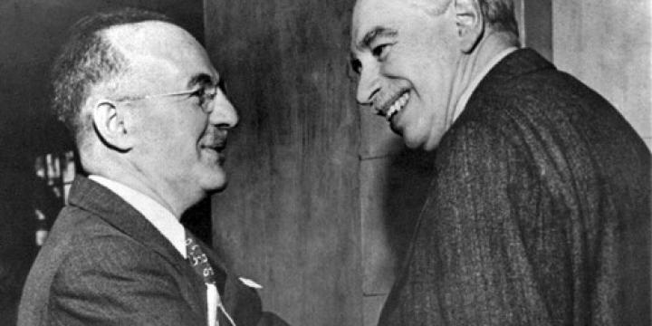 White and Keynes from Wikipedia economics